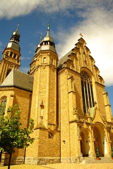 Church Of Saint Joseph In Speyer Royalty Free Stock Photos