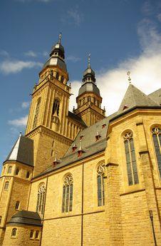 Church Of Saint Joseph In Speyer Stock Photo