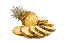 Pineapple Fruits, Slices