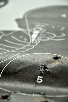 Free Shooting Target Royalty Free Stock Photos - 15816778