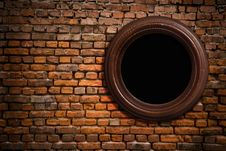 Free Old Wall With A Scope Stock Photography - 15817782