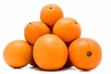 Free Ripe Juicy Oranges Royalty Free Stock Photography - 15817797