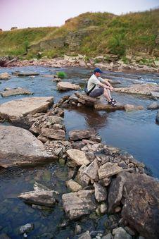 Free River Stones Royalty Free Stock Photos - 15818088