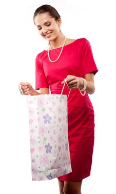 Free Woman Shopper Stock Photo - 15818110