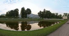 Free Evening Park Panorama Royalty Free Stock Images - 15818139