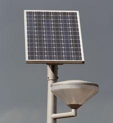 Free Solar Powered Street Light Stock Photos - 15818173