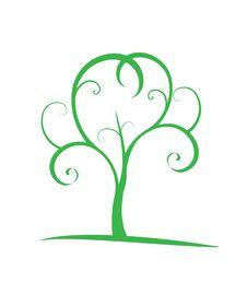 Free Abstract Vector Tree Stock Photo - 15818640