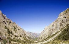 European Mountain Valley Stock Photography