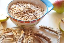 Free Groats Of Oat-flakes Stock Image - 15819061