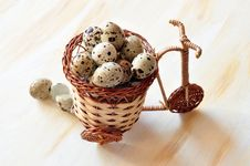 Free Quail Eggs Royalty Free Stock Photos - 15819108