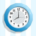 Free Abstract Glossy Clock Icon  Illustration. Stock Image - 15825981