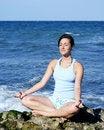 Free Beautiful Young Woman Meditating Royalty Free Stock Photo - 15829885