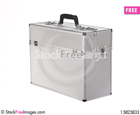 Free Aluminum Suitcase In Pilot-style Stock Photos - 15825833