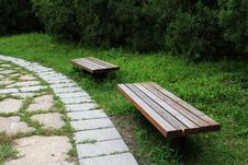 Free Bench By The Lane Stock Photos - 15820033