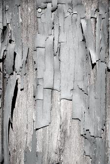 Free Black & White Peeling Paint Royalty Free Stock Images - 15820809