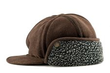 Free Brown Cap With Ears Stock Photos - 15821223