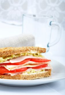 Fresh And Delicious Classic Toast Stock Photography