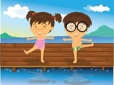 Free Girl And Boy Stock Images - 15822264