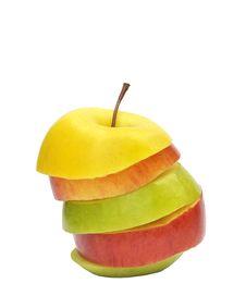 Free Apple Sliced Royalty Free Stock Photos - 15822478