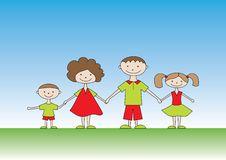 Free Happy Family Royalty Free Stock Image - 15822706