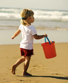 Free Beach Child Stock Images - 15822854