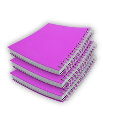 Free Pink Notebook Isolated Royalty Free Stock Photos - 15823468
