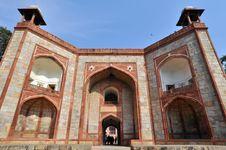 Free The Entrance Of Humayun Tomb, New Delhi, India Royalty Free Stock Photo - 15823565