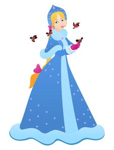 Free Snow Maiden Stock Images - 15823784