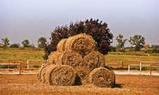 Free Round Bale S Stock Photos - 15823793