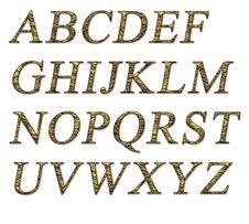 Free Alphabet Royalty Free Stock Photos - 15824778