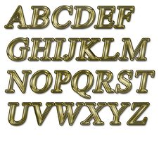 Free Alphabet Royalty Free Stock Photos - 15824818