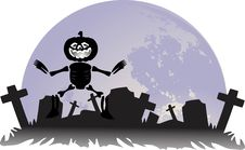 Free The Halloween  Designs Royalty Free Stock Photography - 15825197