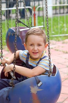 Free Young Boy In The Park Stock Image - 15825411