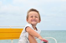 Free Little Cute Boy Stock Photography - 15825412