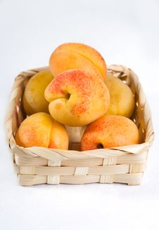 Free Apricots Royalty Free Stock Photo - 15825435