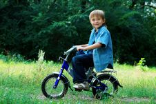 Free Cycling Boy Royalty Free Stock Photos - 15826088