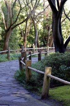 Free Japanese Garden Path Royalty Free Stock Photos - 15826218