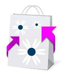 Free Paper Shopping Bag Stock Photography - 15826402