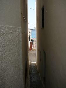 Free Narrow Street View Stock Photo - 15827110