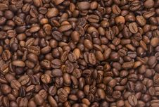 Free Coffee Beans As Background Royalty Free Stock Images - 15827209