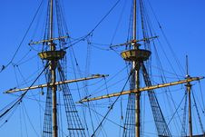 Free Ship S Masts Stock Photos - 15827823