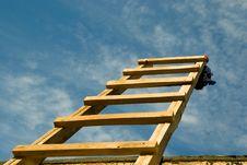 Free Wooden Staircase Stock Photos - 15828413