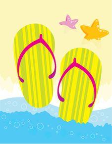 Free Flip Flops Stock Images - 15829504