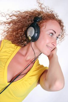 Free Girl Listening To Music Royalty Free Stock Photography - 15829817