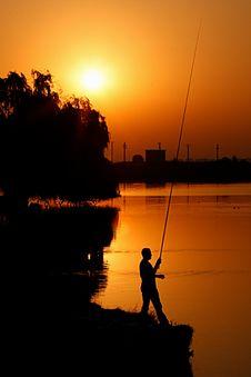 Free Golden Lake Stock Photo - 15829990