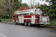 Free Bellingham Fire: Ladder 2 Stock Photo - 158228580