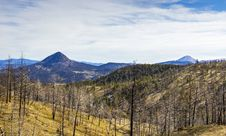Free Black Butte And White Butte, Oregon Stock Photography - 158228662