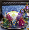 Free Moroccan Teapots And Cups Stock Image - 15835781
