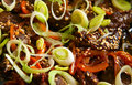 Free Beef With Paprika, Leek And Sesame Royalty Free Stock Photography - 15839957