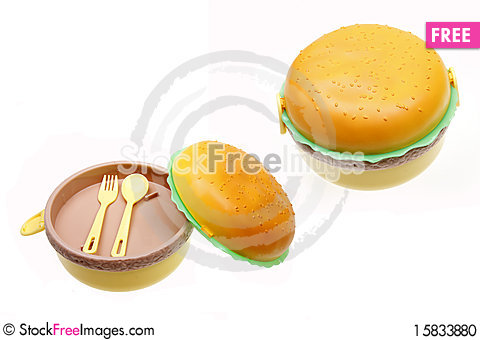 Free Cute Lunch Boxes Stock Photo - 15833880